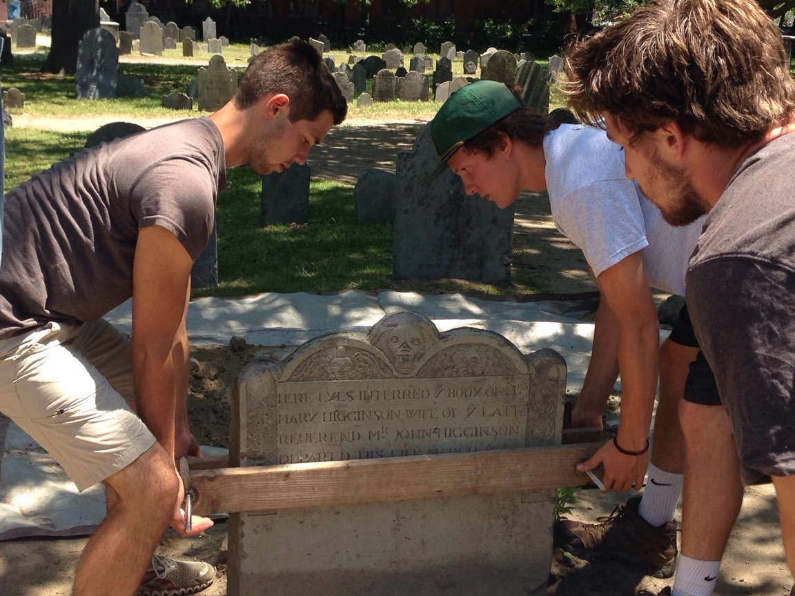 Resetting of Mary Higginson marker