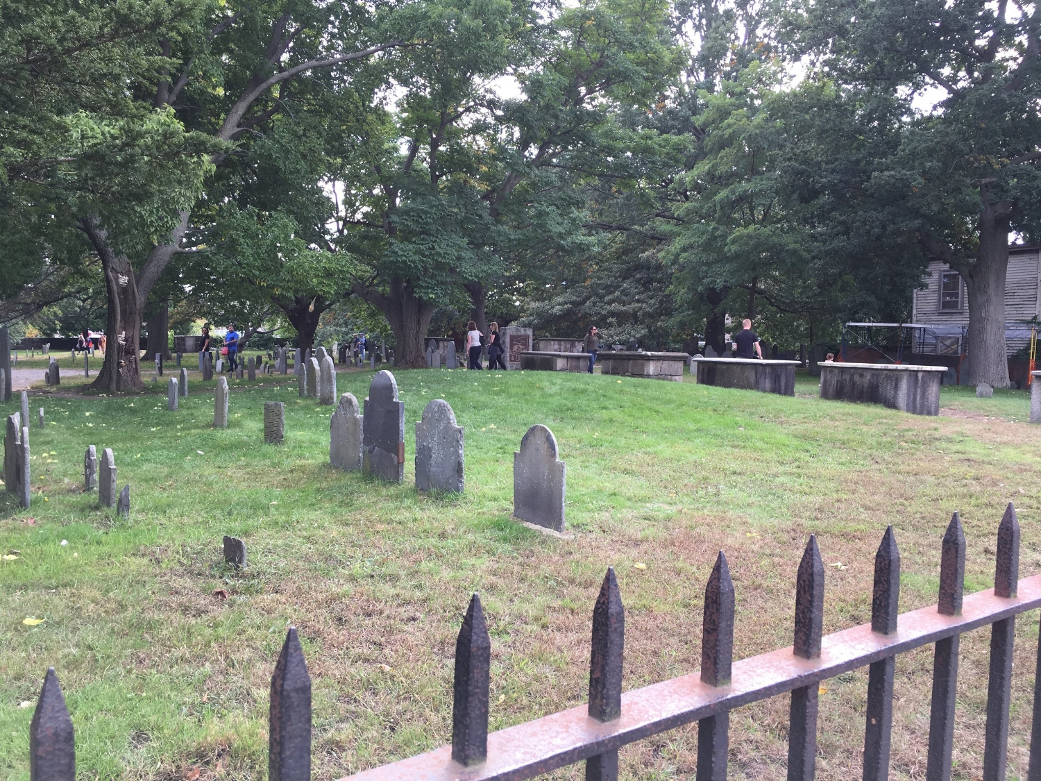 Charter street cemetery restoration project to begin -