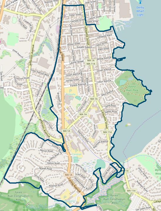 South Salem Survey Area