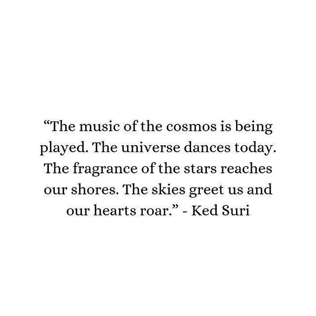 "Happy Guru Purnima . . . ""The music of the cosmos is being played. The universe dances today.  The fragrance of the stars reaches our shores. The skies greet us and our hearts roar."" - Ked Suri . . . #yogipress #yogalife #yogainspiration #yogilife #consciousness #conscious #meditate #meditator #spirituality  #beofbenefit #beofservice #servelovegive #sivananda #satyananda #bodymindsoul #meditatedaily #mindfulness #inspiration #mindfullife #yogilifestyle #qotd #inspirationalquotes #gurupurnima #gurupurnima2019 "