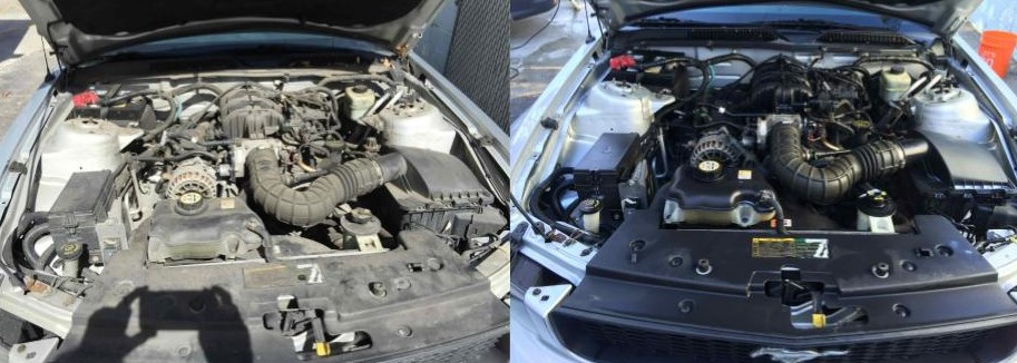 Does a dirty car engine affect performance | Car Detailing Services Near Me