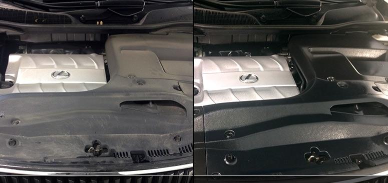 Engine car detailing services Maryland | Washington DC