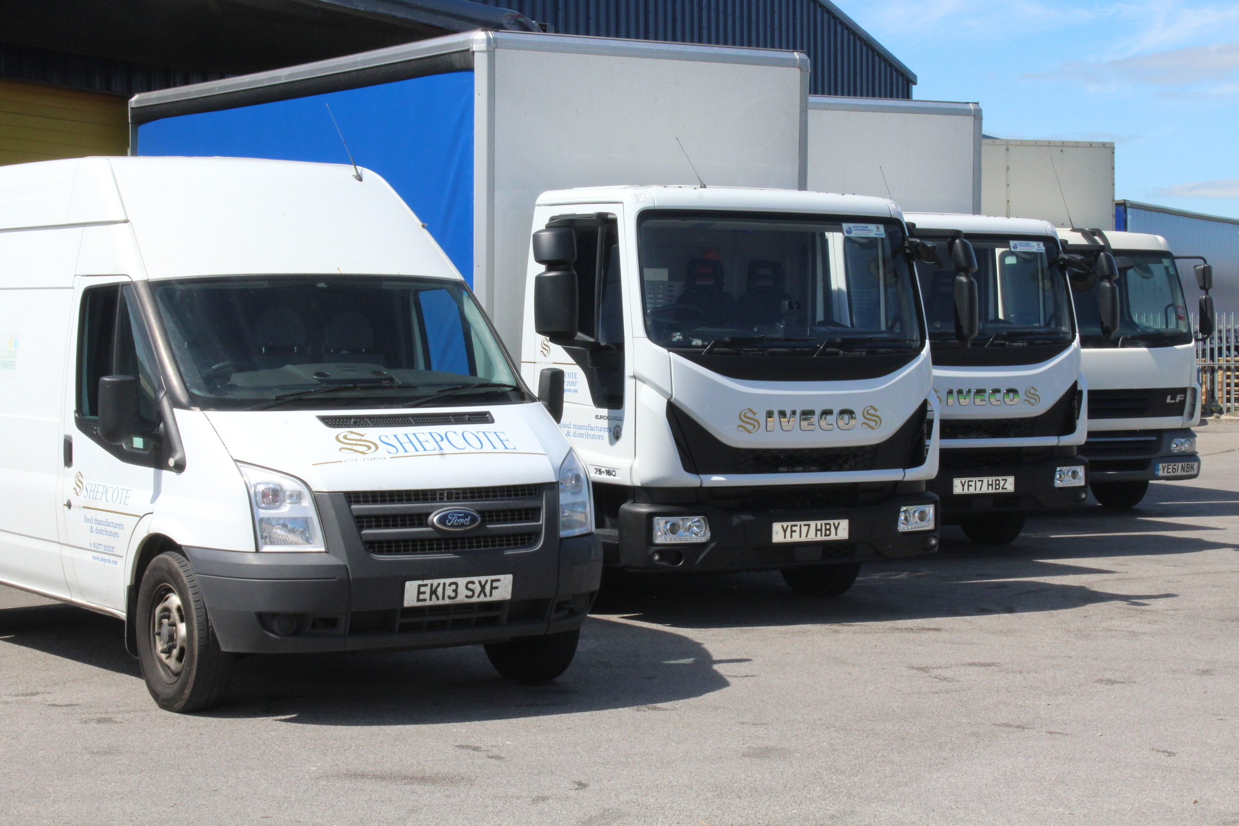 Shepcote Delivery Fleet