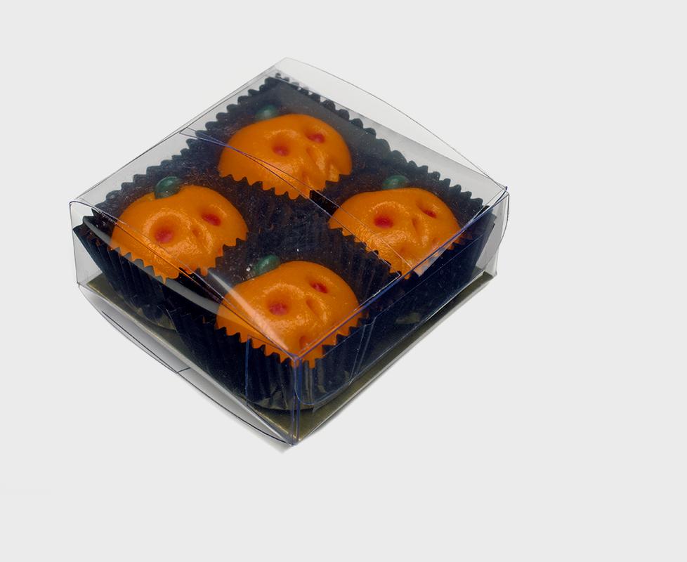 Shepcote Marzipan Halloween Pumpkins