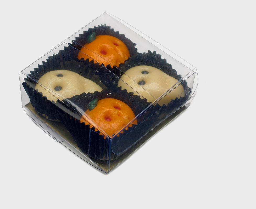 Shepcote Marzipan Pumpkin & Skulls