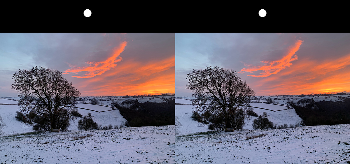 Snow Covered Fields Staffordshire