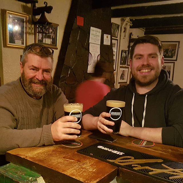 Doing some last minute tasting of our new beer in Peppers pub before we unleash it on the general public! 3 guesses what it is; its dark, creamy and takes 2 minutes to settle!! Expect to see it released in pubs in the next month or 2!