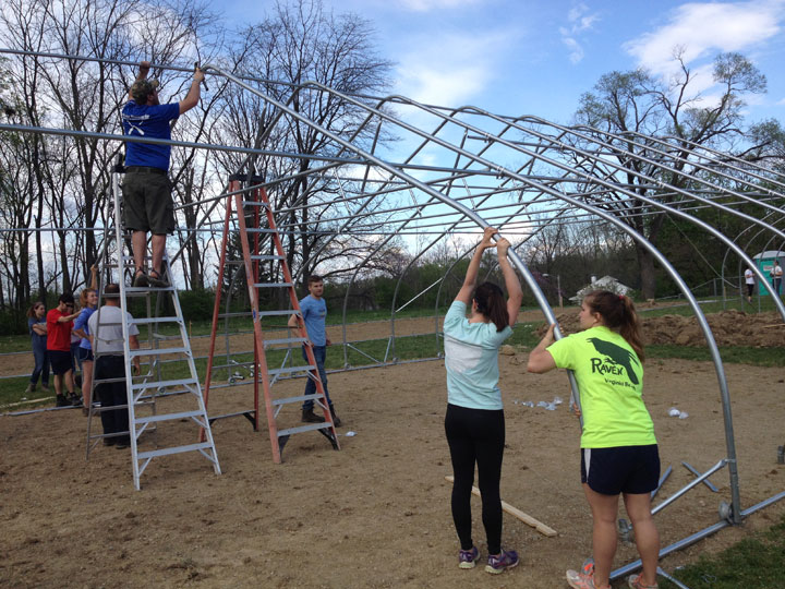 Lincoln Hill Gardens Volunteer Day