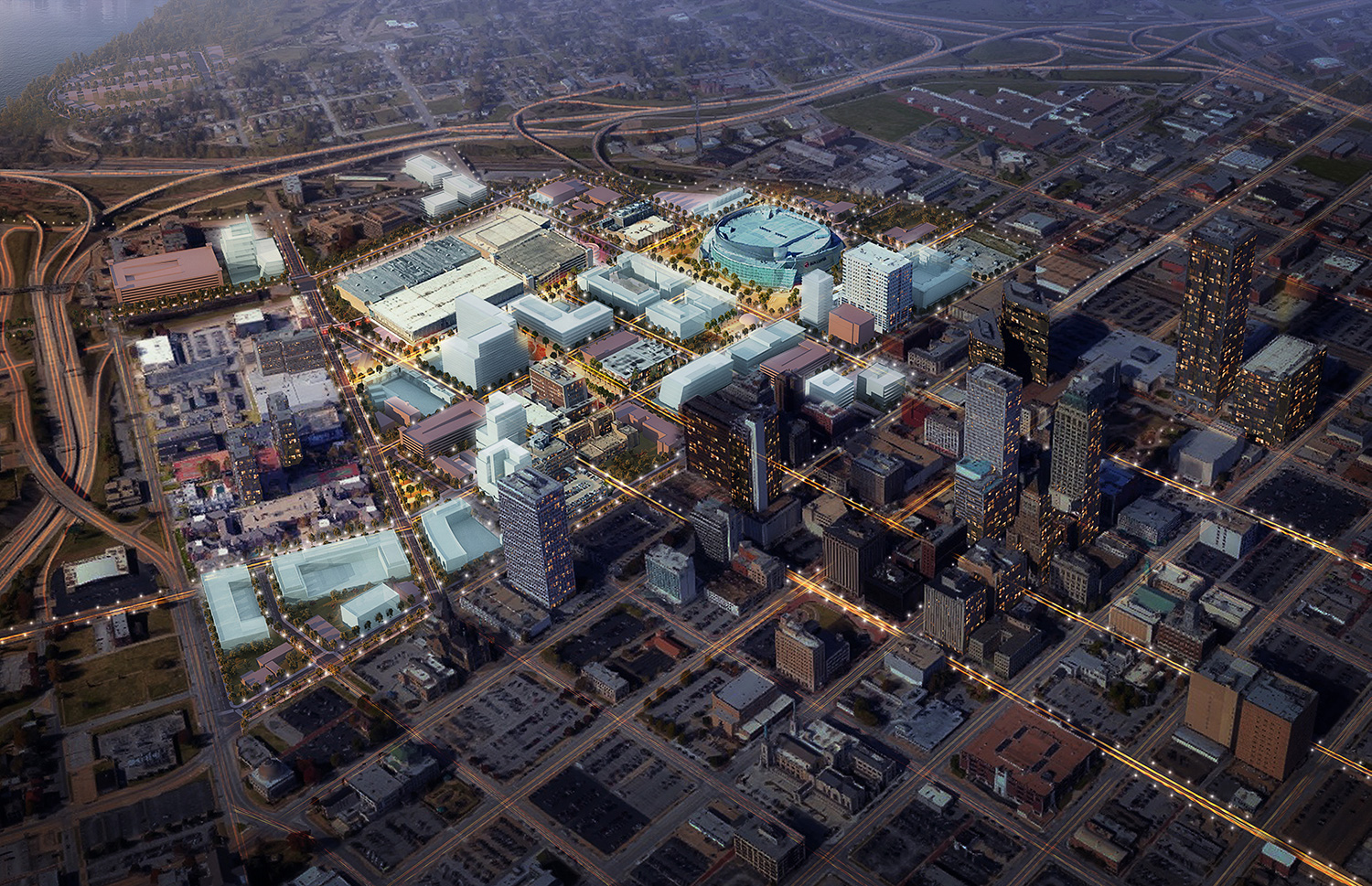 Tulsa Arena District Master Plan