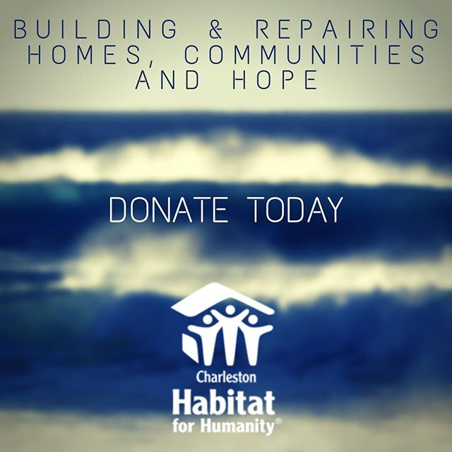 While #HurricaneDorian descends upon the Lowcountry, we are preparing to help families with critical home repairs in its aftermath. Donate today! https://charlestonhabitat.charityproud.org/Donate  #chashabitat #habitatforhumanity #homerepairs #charleston