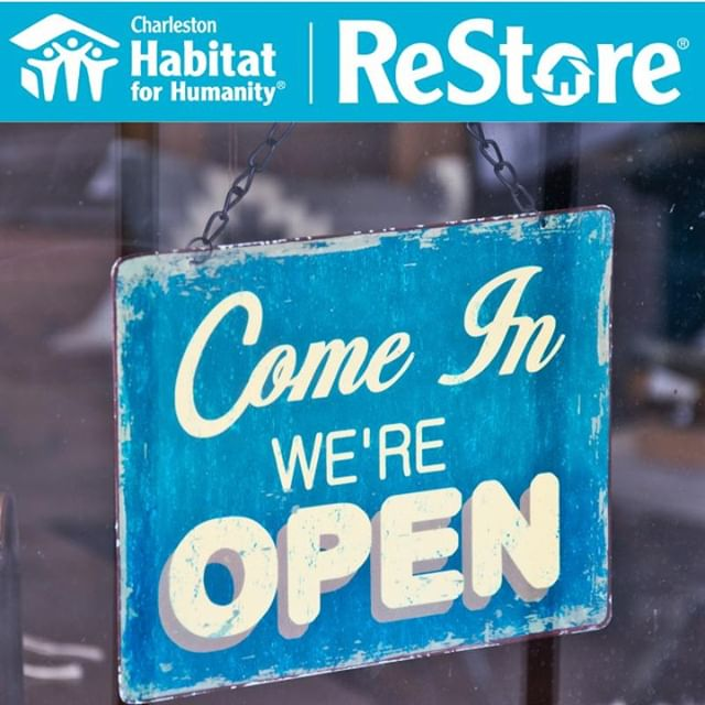 We're ready to be back in business! We'll be open Saturday for construction volunteers for both AM and PM shifts, the administrative offices will open Monday morning, and the ReStore will be open for business on Tuesday @10AM. See y'all soon! #chashabitat #restore #farewelldorian