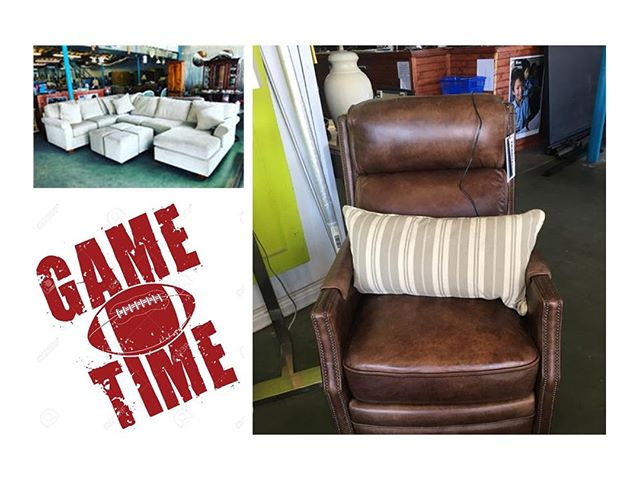 Where are you watching your football this weekend… in the living room that doesn't seat everyone? Stop by the ReStore today to get your place game ready! We have couches, recliners, bar stools – all of the essentials.  #restore #chashabitat #shoplocal #shopchs #731meetingstreet