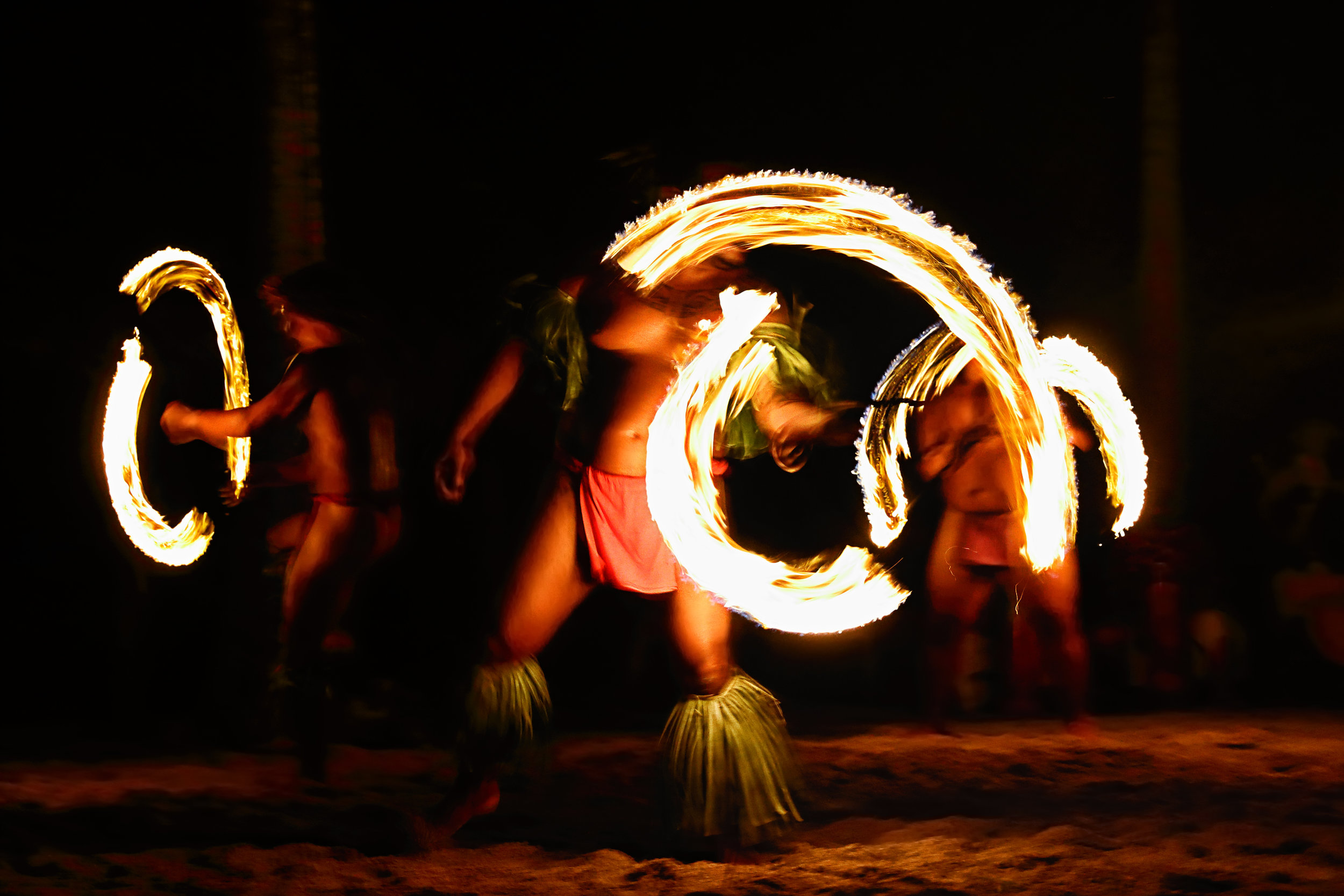 Polynesian Cultural Center and Luau - Enjoy wandering through eight villages replicating life in various parts of Polynesia. Learn how to make food, play games and even throw a spear - just as they do on these islands.