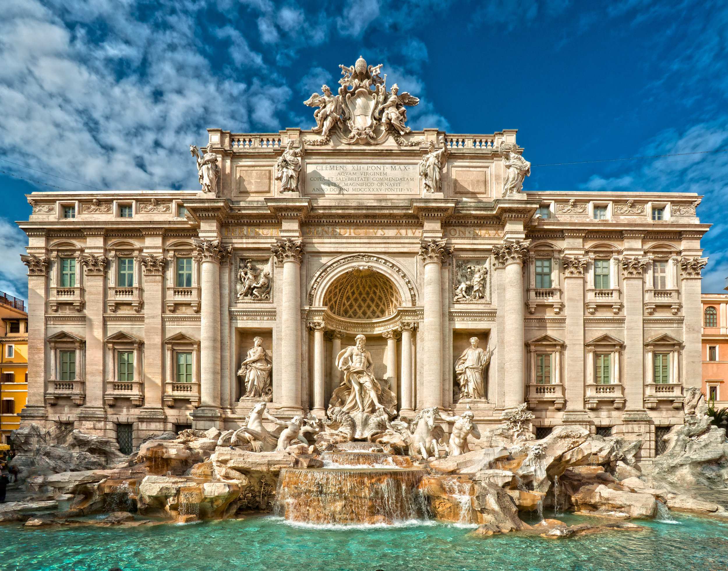 Aug 7:Explore Rome - Spend the day adjusting to the time change while exploring Rome and it's many cafe's, shops and famous sites. Don't miss the Spanish Steps (great for people watching), Trevi Fountain and Piazza Navona!