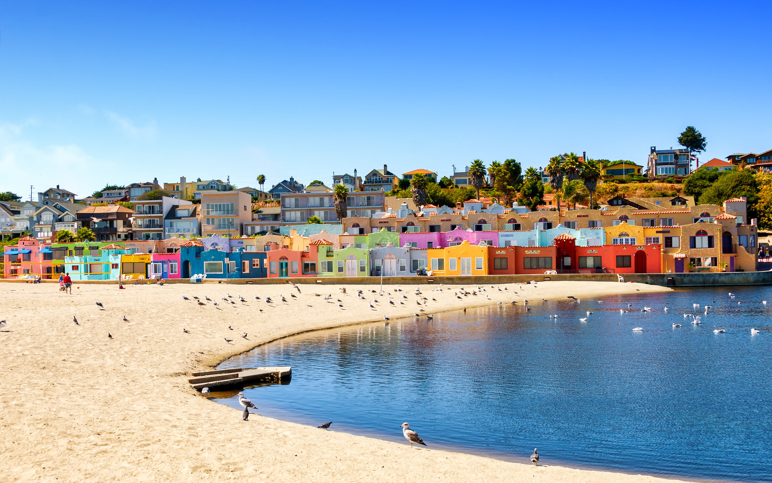 Jul 1:Enjoy time with family - For a short road trip (about 1.5hrs), consider California's rugged central coast in Monterey! A great road trip option is to stop by and have lunch in the colorful seaside town of Capitola, located on Monterey bay!Continue on to the town of Monterey and visit Cannery Row, one-time center of the sardine-packing industry, immortalized by novelist John Steinbeck. Today, it's a popular strip of gift shops, seafood restaurants and bars in converted factories. Also famous is Monterey Bay Aquarium, with thousands of marine animals and plants on display in underwater and interactive exhibitsAnd/or Carmel-By-The-Sea, a small beach city on California's Monterey Peninsula. It's known for the museums and library of the historic Carmel Mission, and the fairytale cottages and galleries of its village-like center. The Scenic Bluff Path runs from surf spot Carmel Beach to bird-rich Carmel River State Beach, with a scuba entry point. South lie the sea animals and whaling museum of Point Lobos State Natural Reserve. And if you keep going just a bit further... Big Sur.