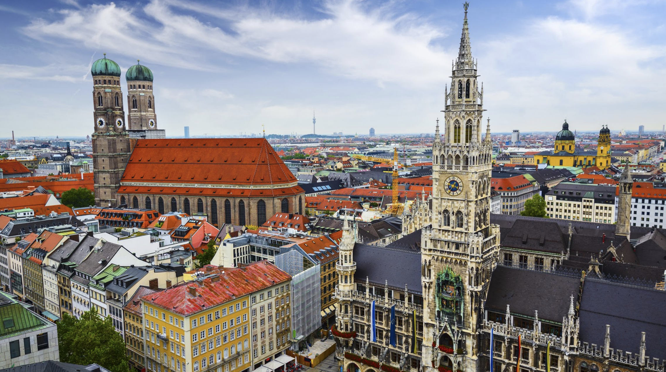 Oct 19:DEPART for Munich - Today you will transfer to the airport for a direct flight to Munich, Germany.