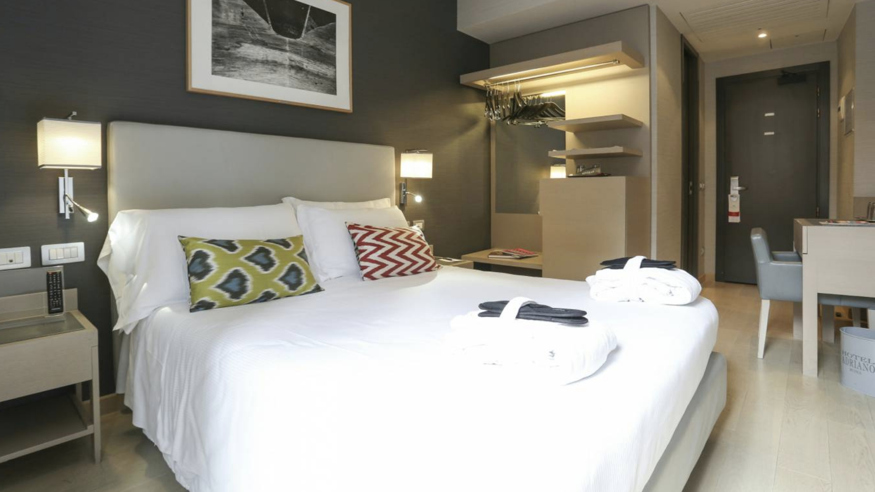 HOTEL - Hotel Adriano*includes breakfastHotel is included for all Pre-Cruise Rome Trip options.