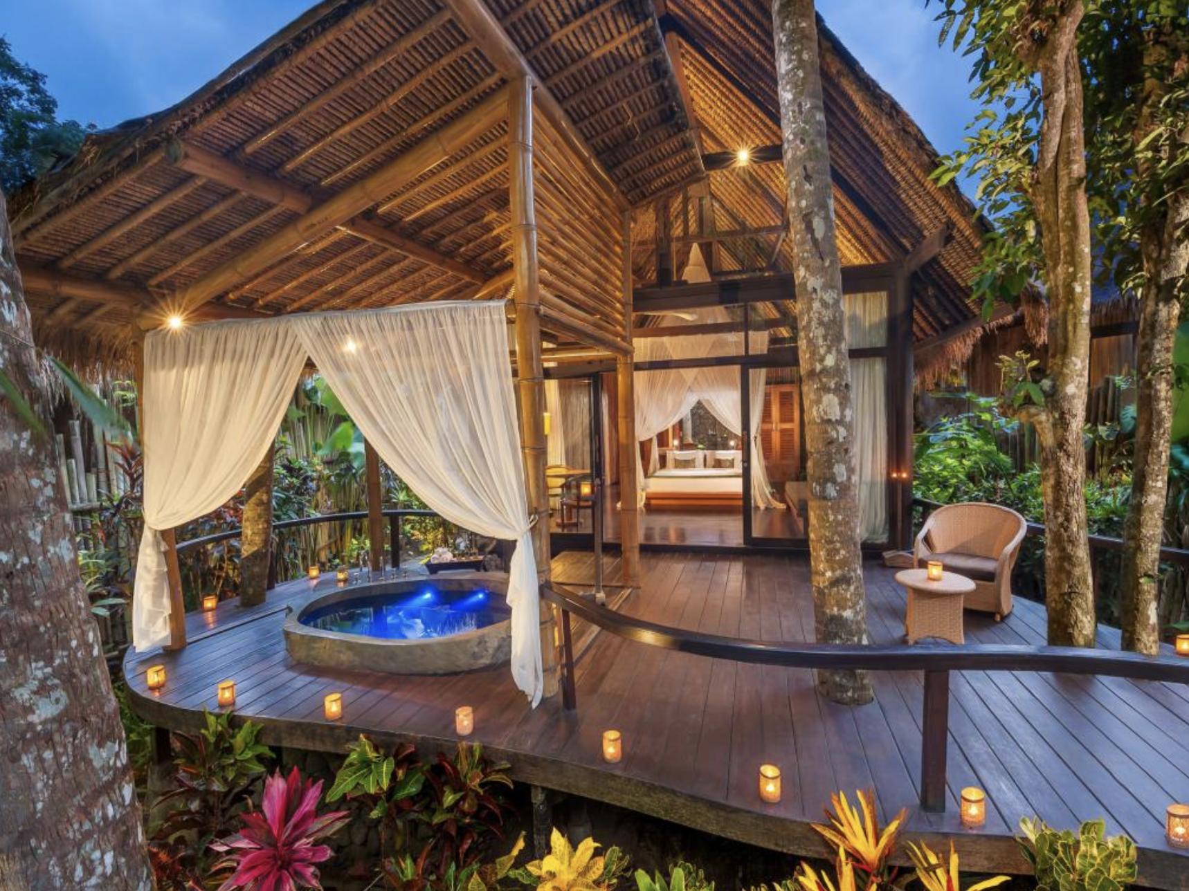 Accommodation: - Fivelements Bali