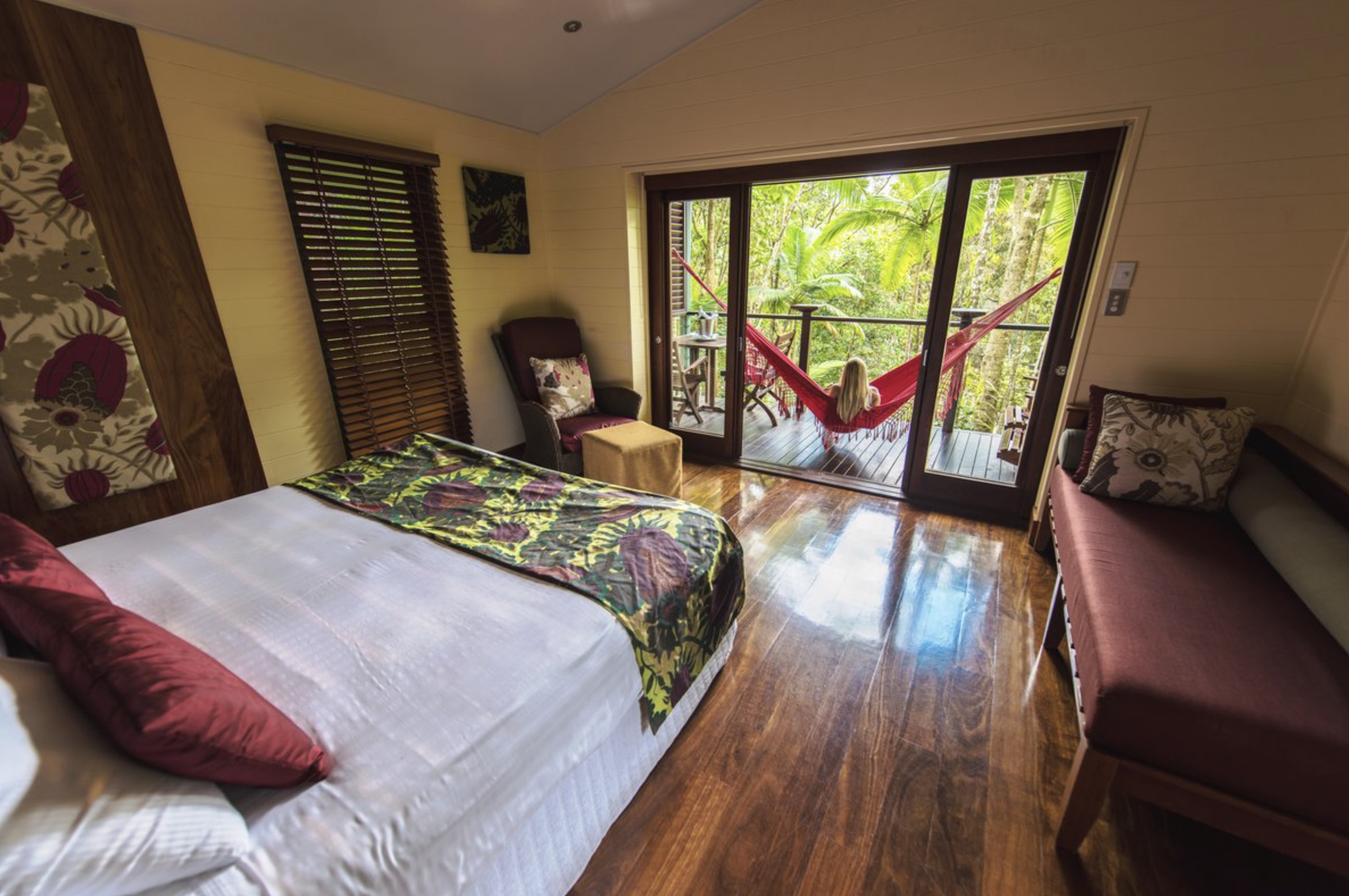 Accommodation: - Silky Oaks Lodge$1131/couple (total for 4nts in the Daintree Treehouse)