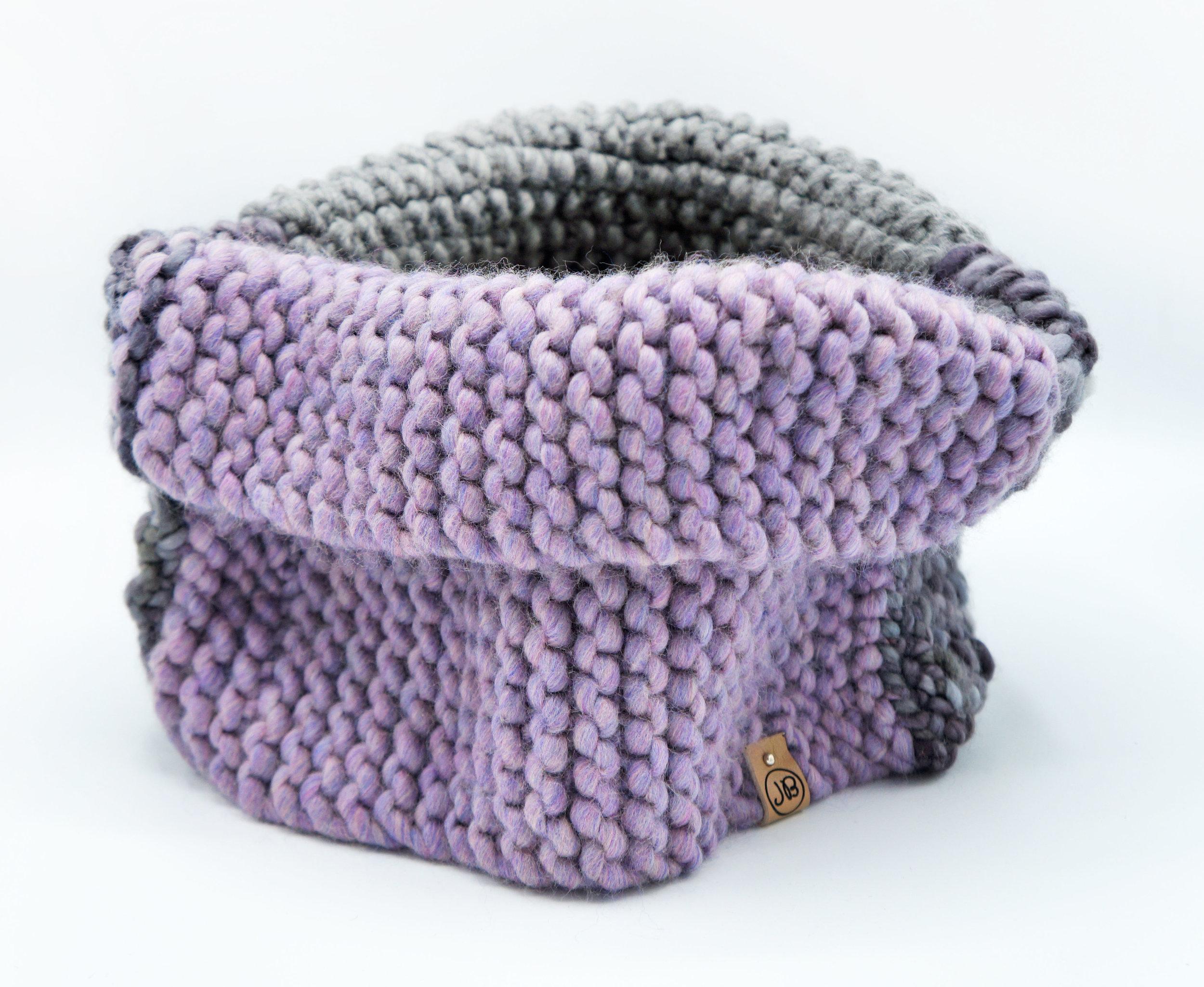 Cowl Neck   Lavender & Gray $135.00