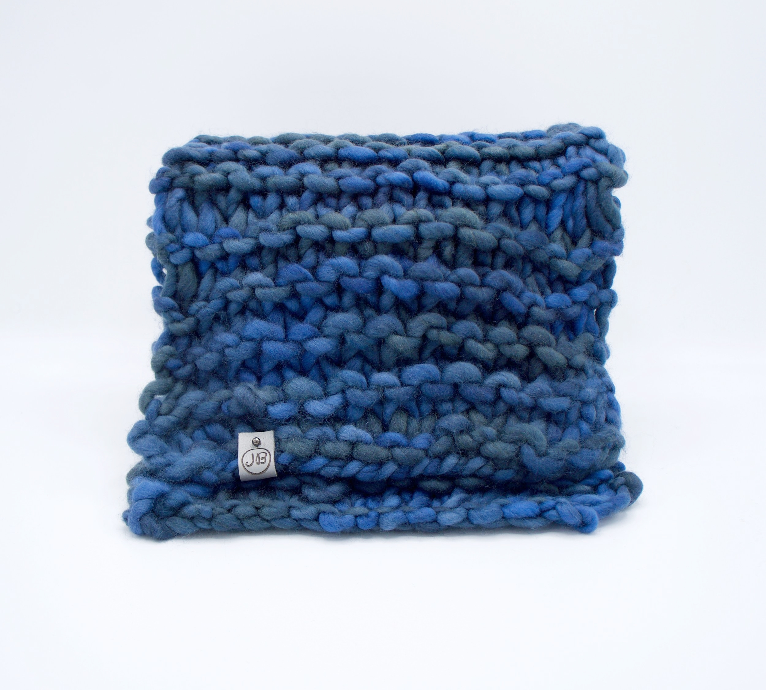 Chunky Scarf   Blue $139