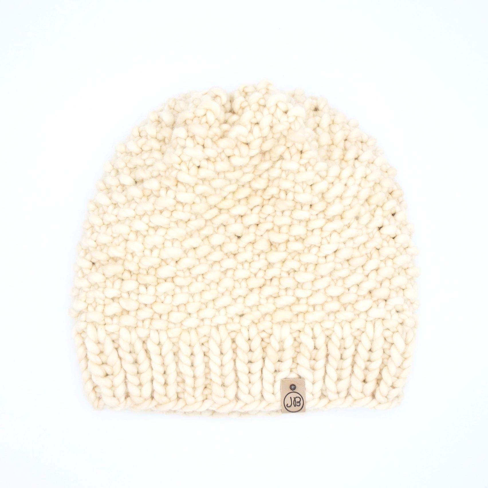 Slouchy Hat   Burned Ivory $125