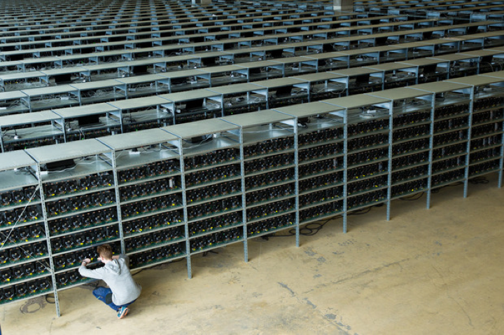 The Source 1 Bitcoin Miner, KnC's operation in Sweden