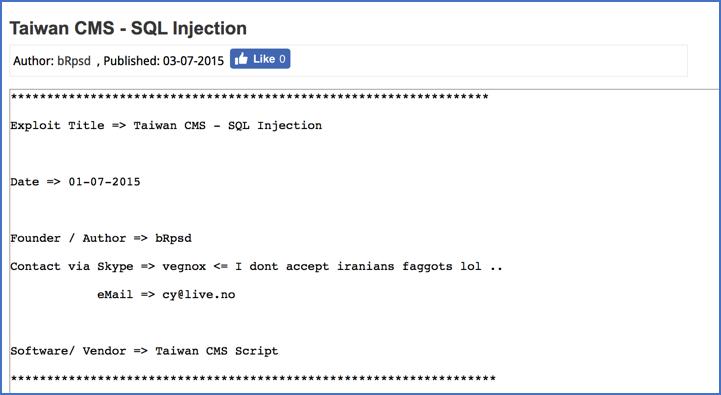 Figure       SEQ Figure \* ARABIC     7        http://www.exploit4arab.org/exploits/1610