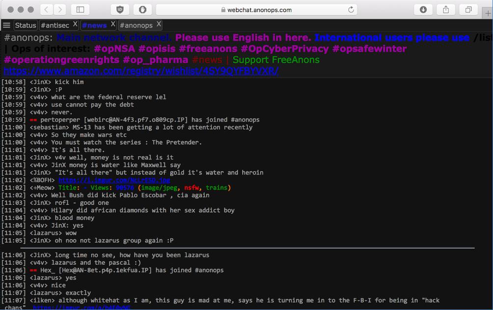 IRC Protocol: Instant Messenger of the Darknet — DarkOwl - Darknet