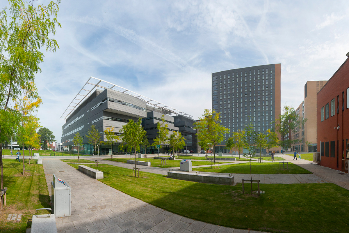 Exterior/Interior - Photographs of the buildings and schools of the University of Manchester. Photographic rebrand for RAK Recording Studio, London. Commissions for Manchester Central Convention Complex.