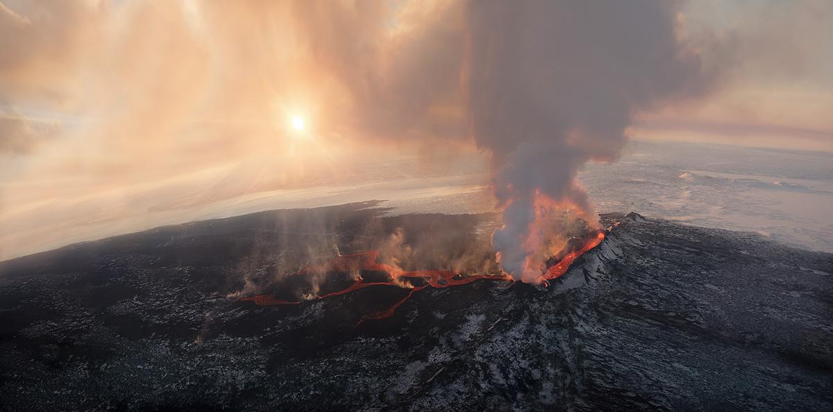 The Holuhraun Crater Eruption 2015