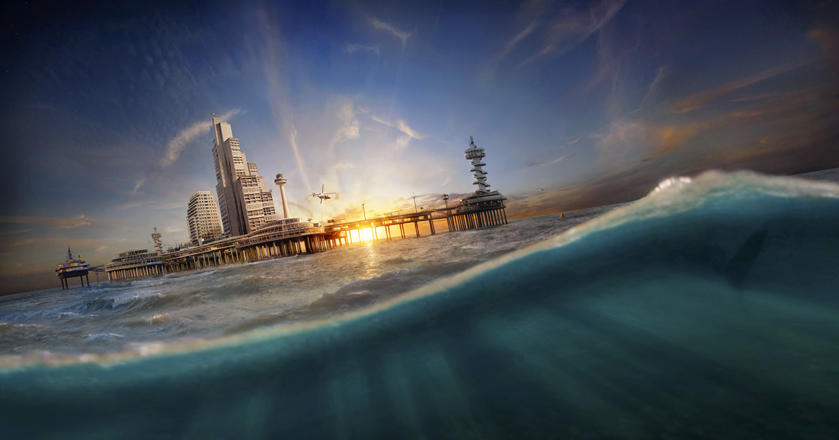 SEALAND, imagined city on the ocean