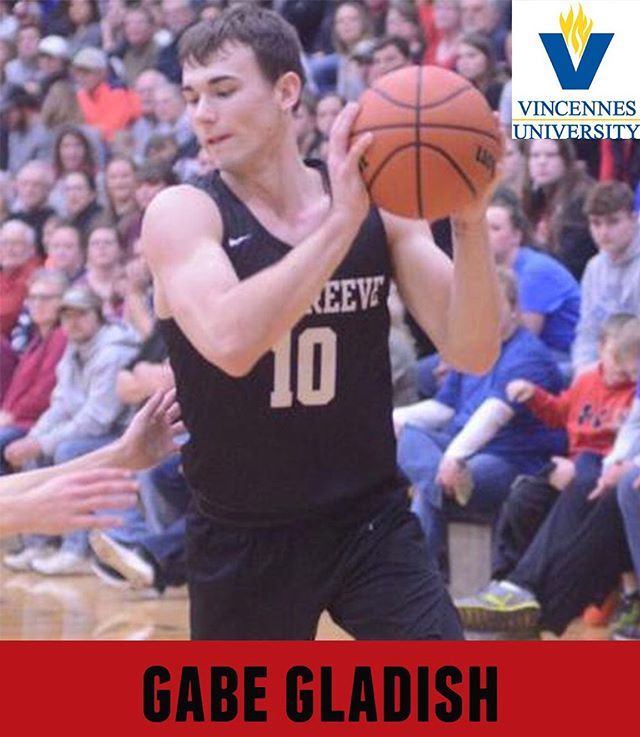 #seniorshowcase for No. 10, Gabe Gladish!  Gabe will be attending Vincennes University in the Fall and plans to study Logistics.  Thank you, Gabe for committing to #bepositivelydifferent