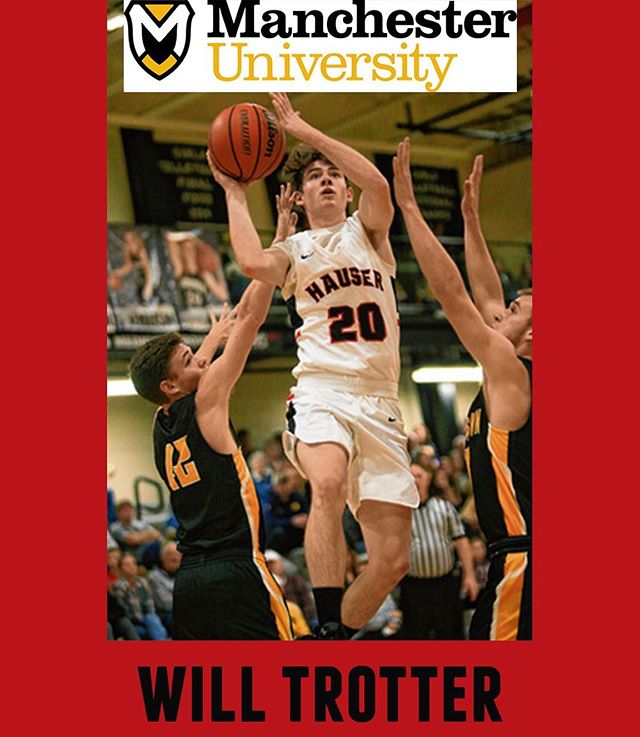 #seniorshowcase for a true baller, Will Trotter! Will has committed to play ball at Manchester University and also plans to study Physical Education. Thank you, Will for committing to #bepositivelydifferent 