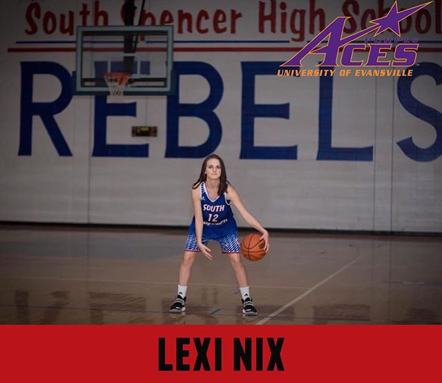 #seniorshowcase for our girl, Lexi Nix!  Lexi will be attending the University of Evansville in the Fall and plans to study Nursing.  Thank you, Lexi for committing to #bepositivelydifferent