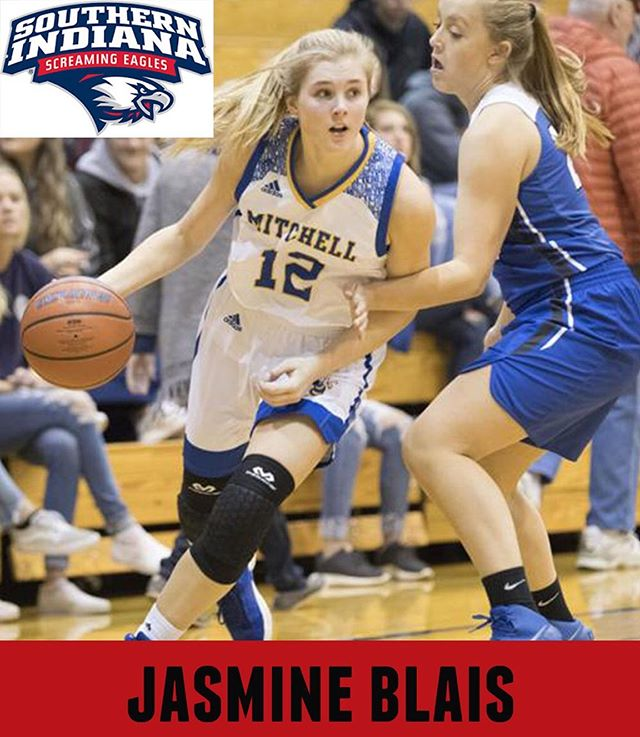 #seniorshowcase for this champ, Jasmine Blais!  Jasmine will be attending Southern Indiana and plans to take Pre-Veterinary classes in the Fall.  Thank you, Jasmine for committing to #bepositivelydifferent