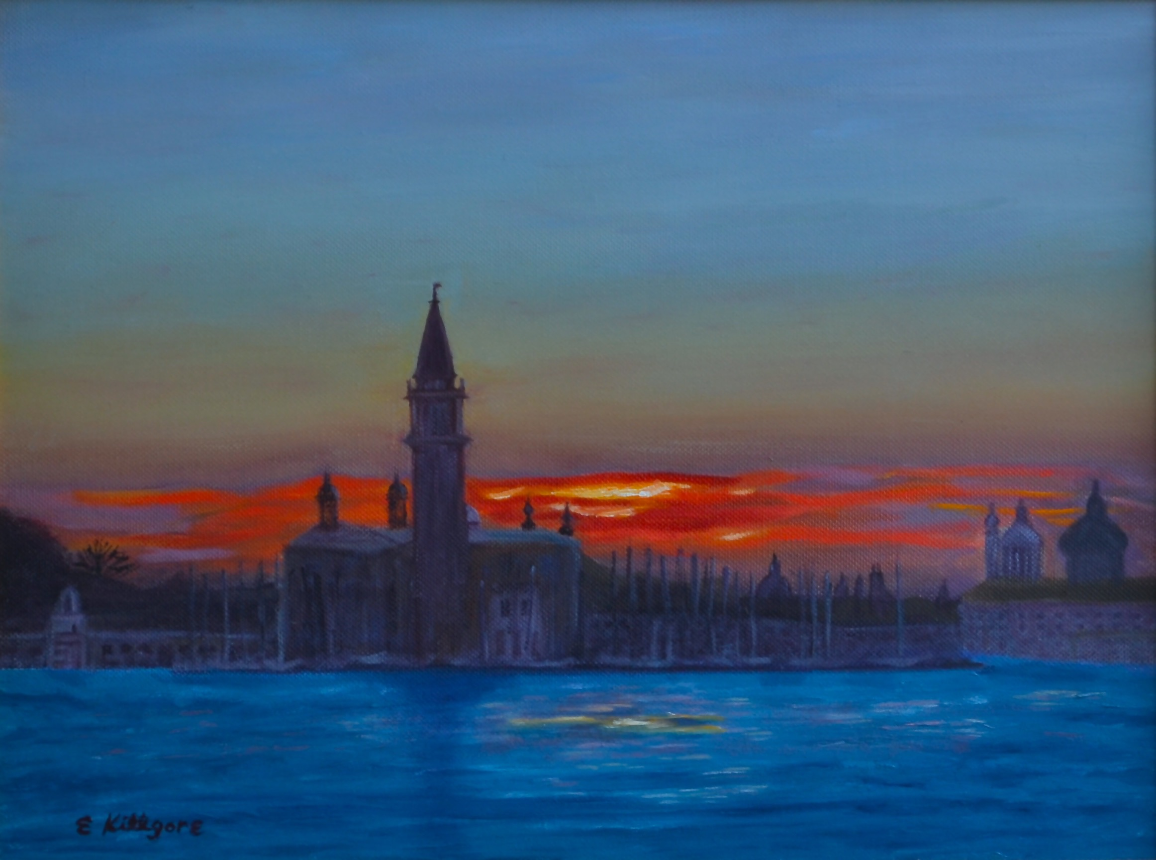 "Magic of Venice  12"" x 16"""