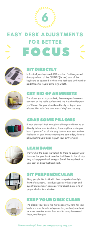 Desk Fixes for Pain Relief
