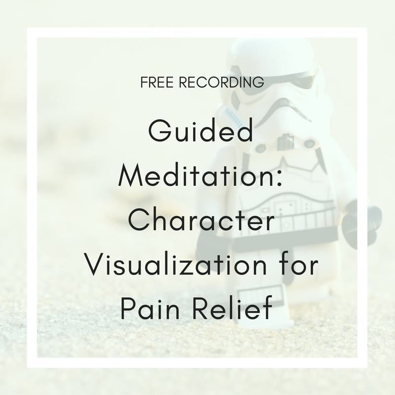 Guided Meditation: Character Visualization for Pain Relief