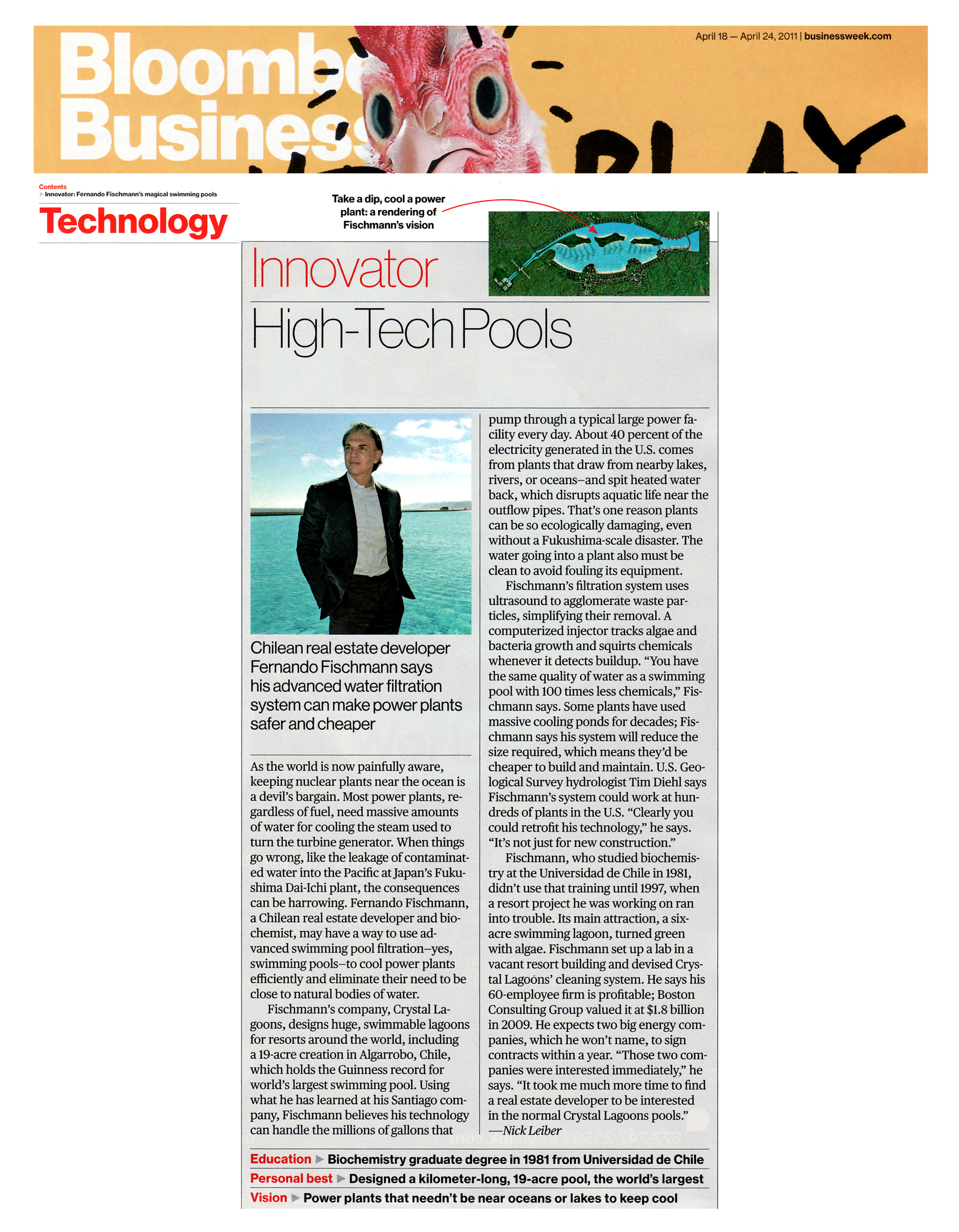 Bloomberg BusinessWeek_Crystal Lagoons