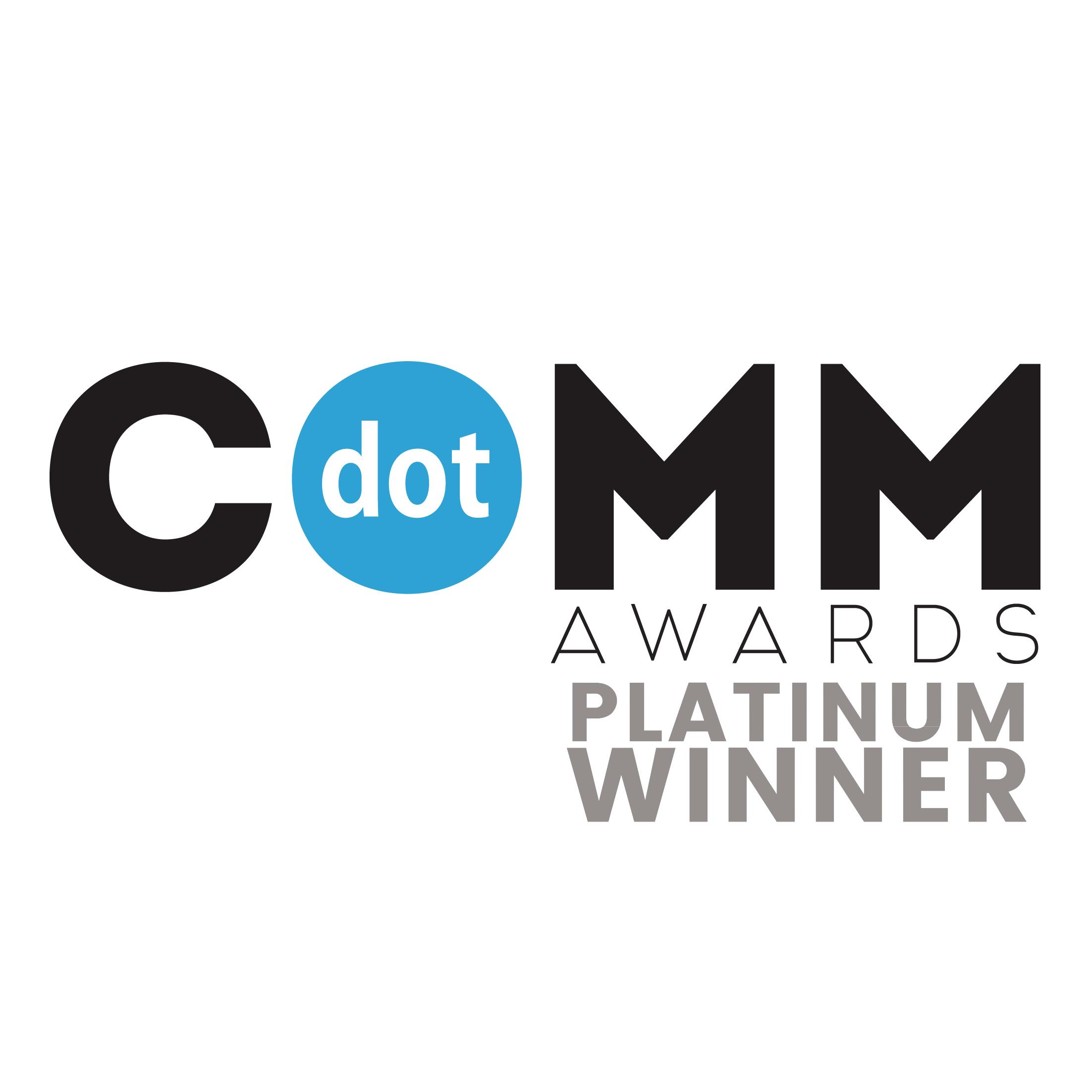 (AMCP) dotCOMM Awards_Platinum Winner