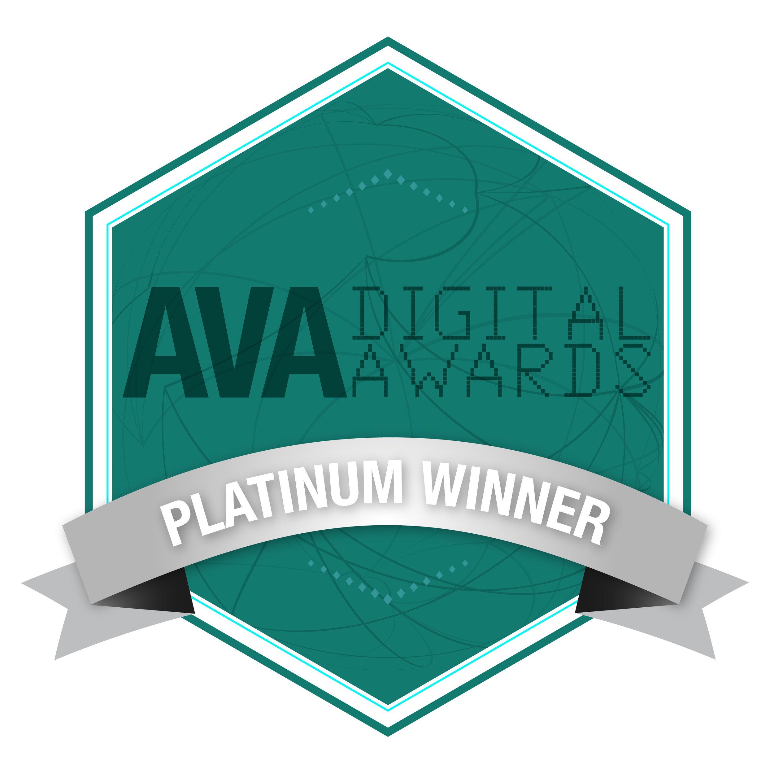 AVA Digital Brand Voice & Strategic Storytelling Award