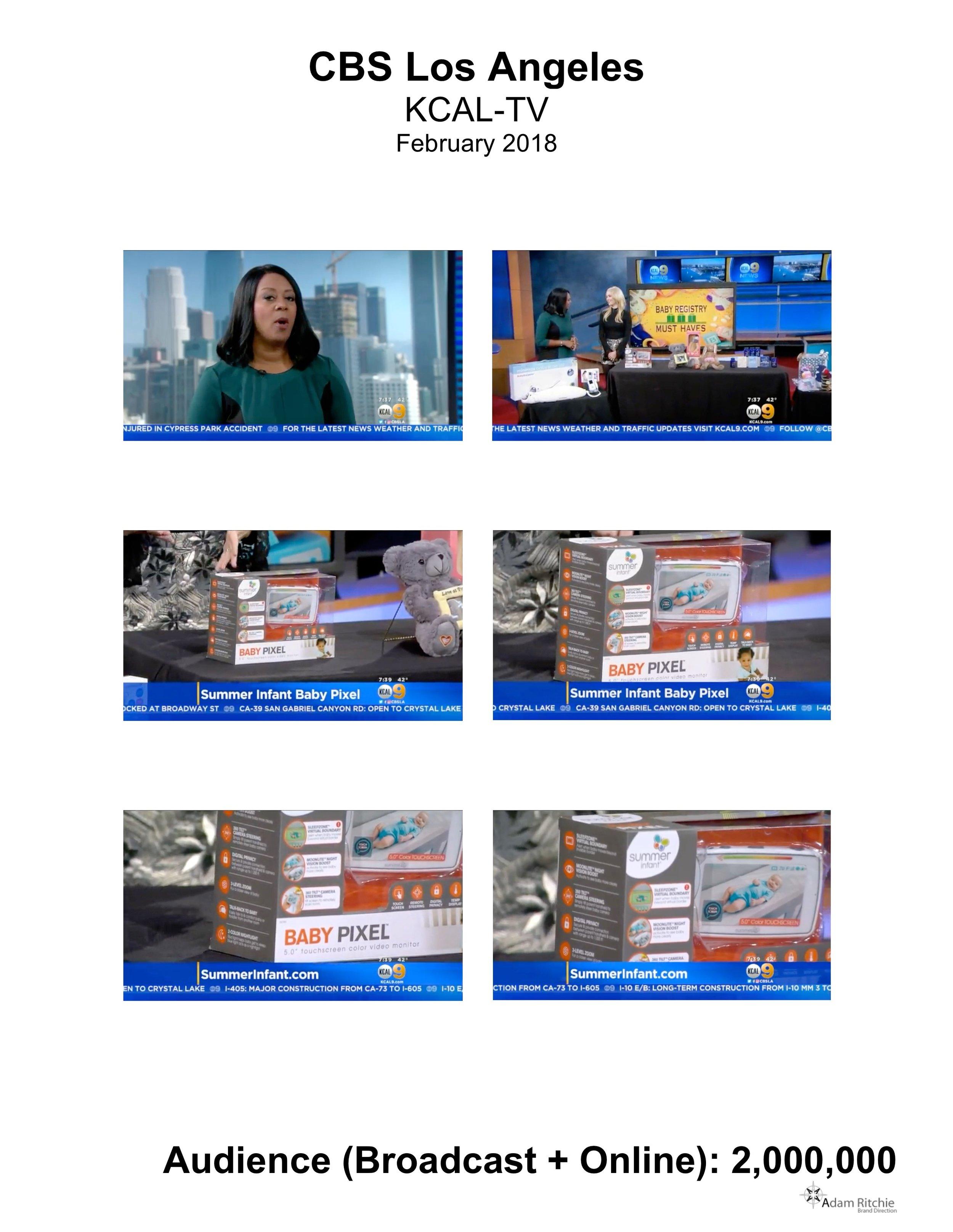 2018.02.24_KCAL-TV (CBS 9)_Summer Infant Baby Pixel Monitor.jpeg