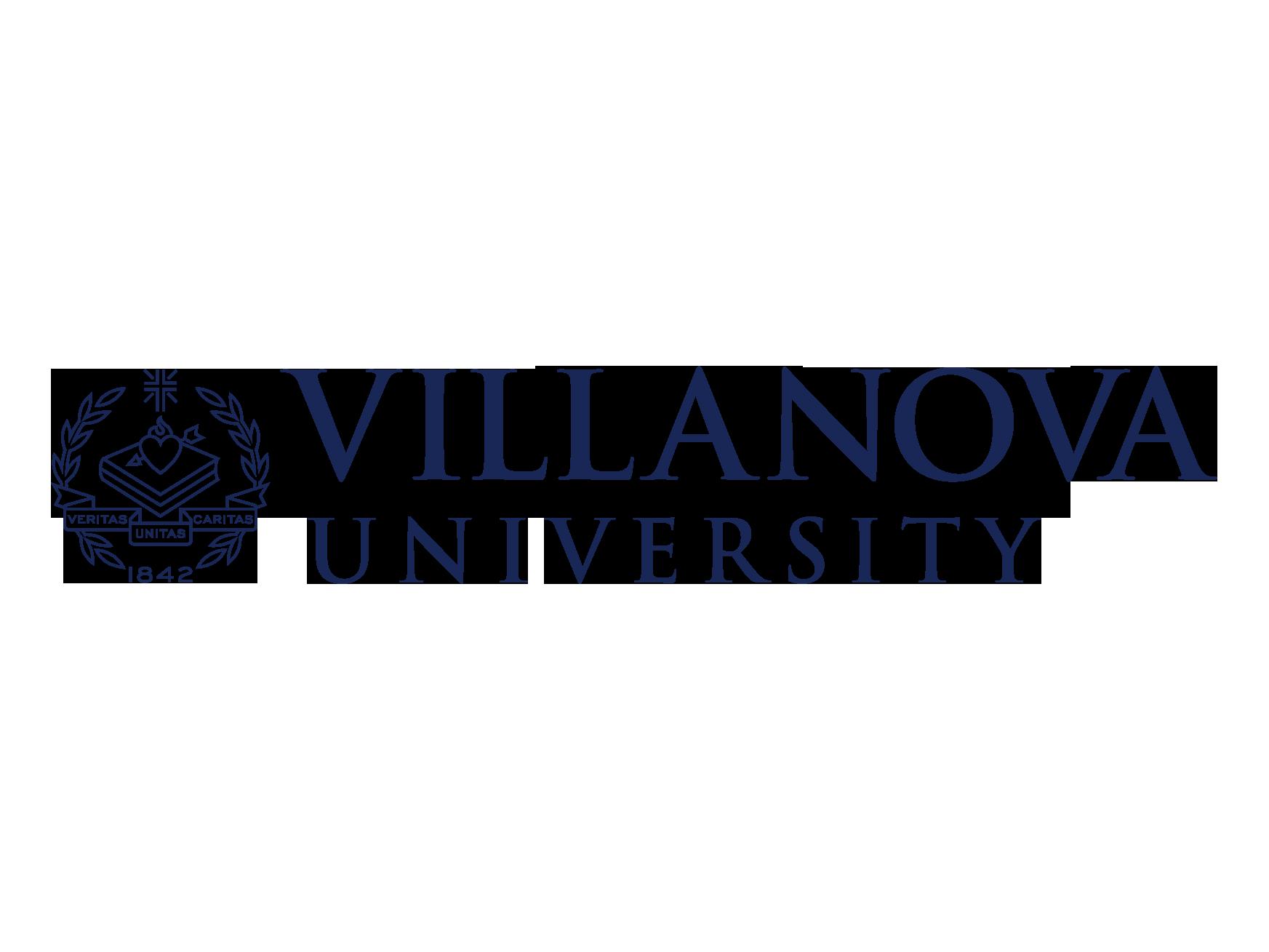 Logo, Speaking Engagement_Villanova University_Logo_mounted_FAV.png