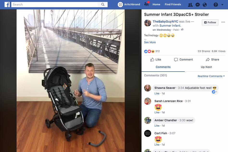 2018.05.16_The Baby Guy Gear Guide, Facebook Live_Summer Infant 3Dpac CS+ Compact Fold Stroller_cropped 3x2.png