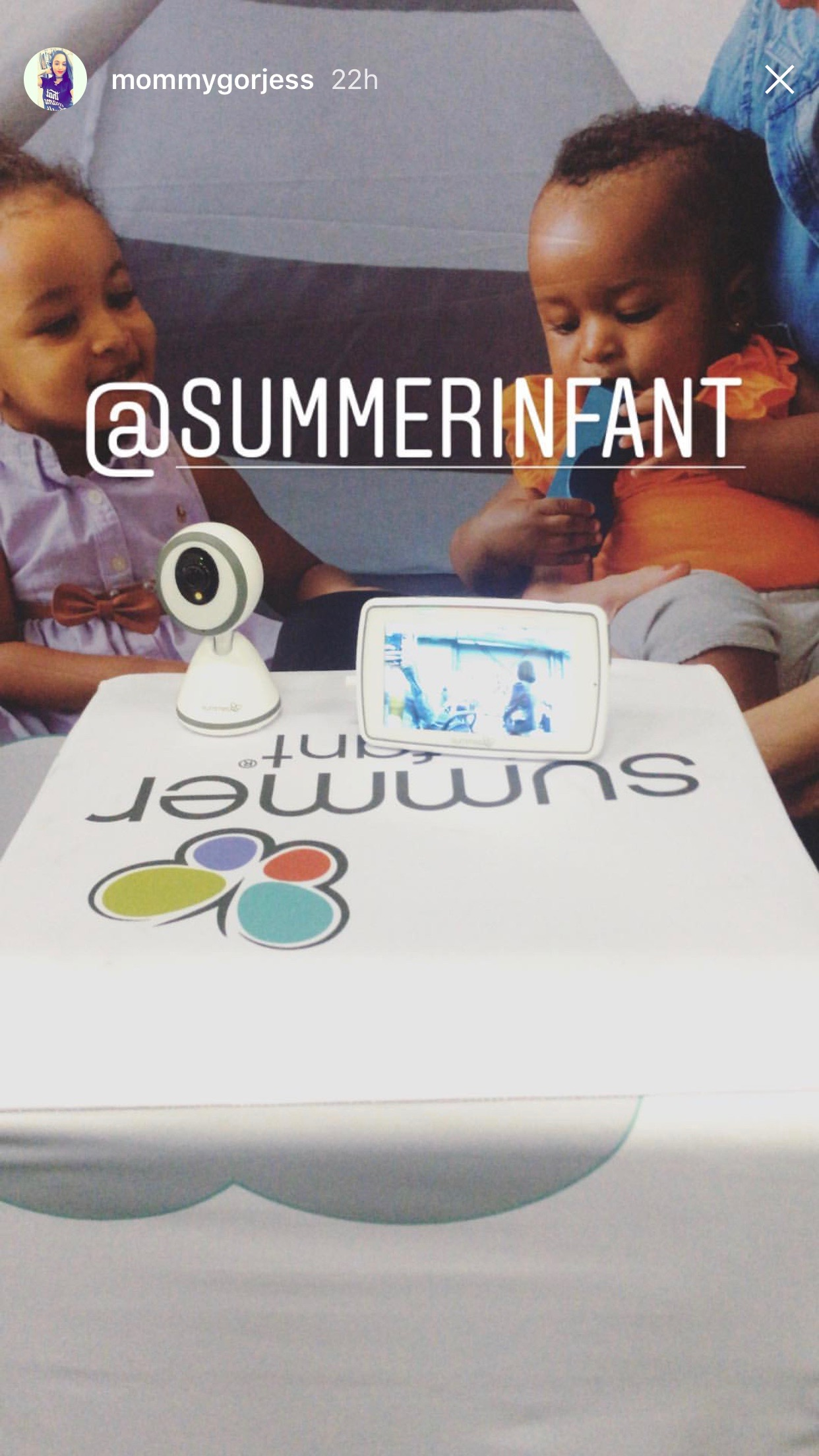 2018.05.19-20_Mommygorjess, Instagram Story_Summer Infant Baby Pixel.jpg