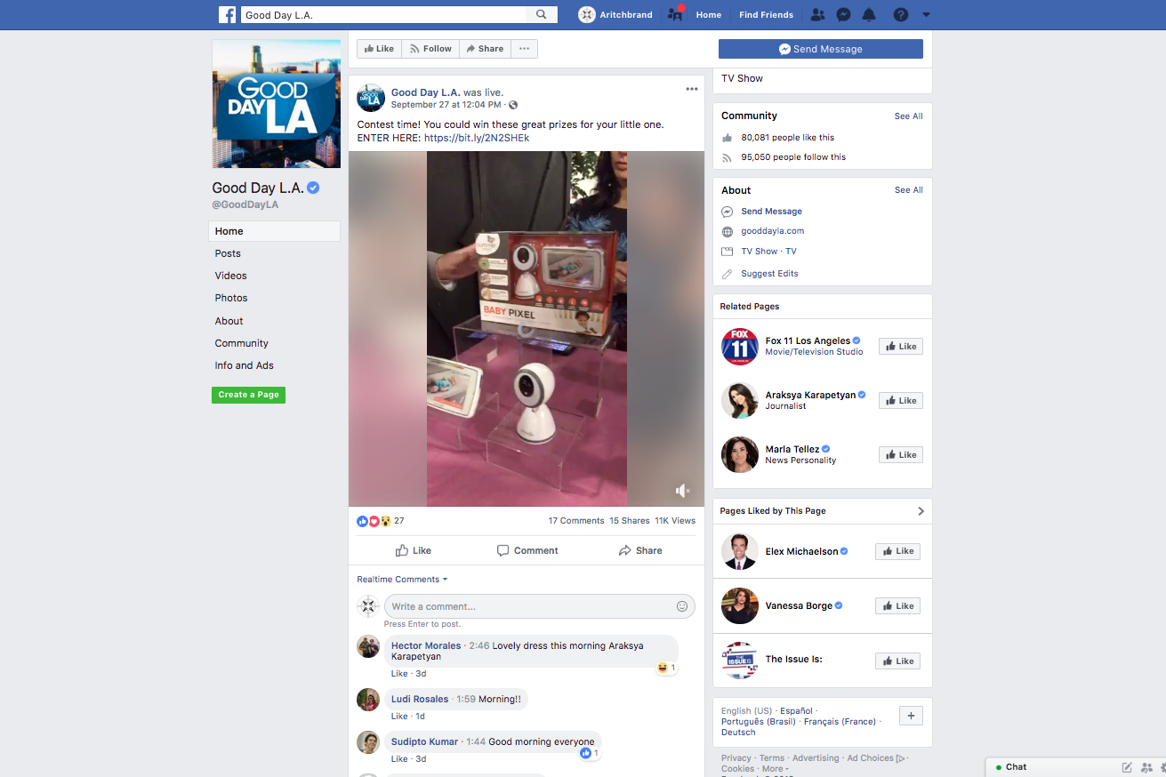 2018.09.27_KTTV-TV:KCOP-TV (FOX 11:MyNetworkTV 13) [Good Day L.A.], Facebook_Summer Infant Baby Pixel monitor, My Size Potty, 3Dpac CS+, Delux Pop 'N Play_cropped 2x3.png