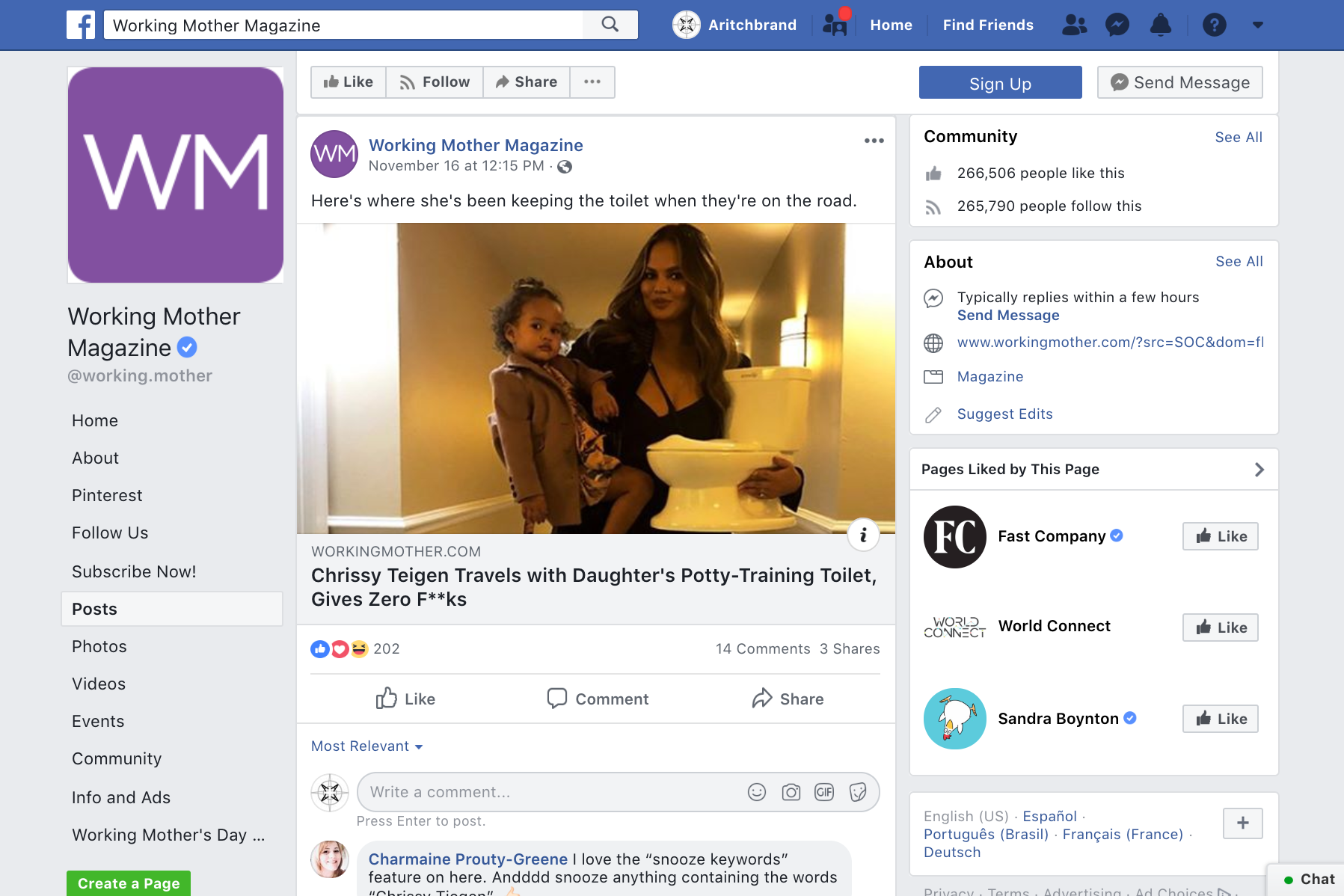 2018.11.16_Working Mother, Facebook_Chrissy Teigen Summer Infant My Size Potty_cropped 2x3.png