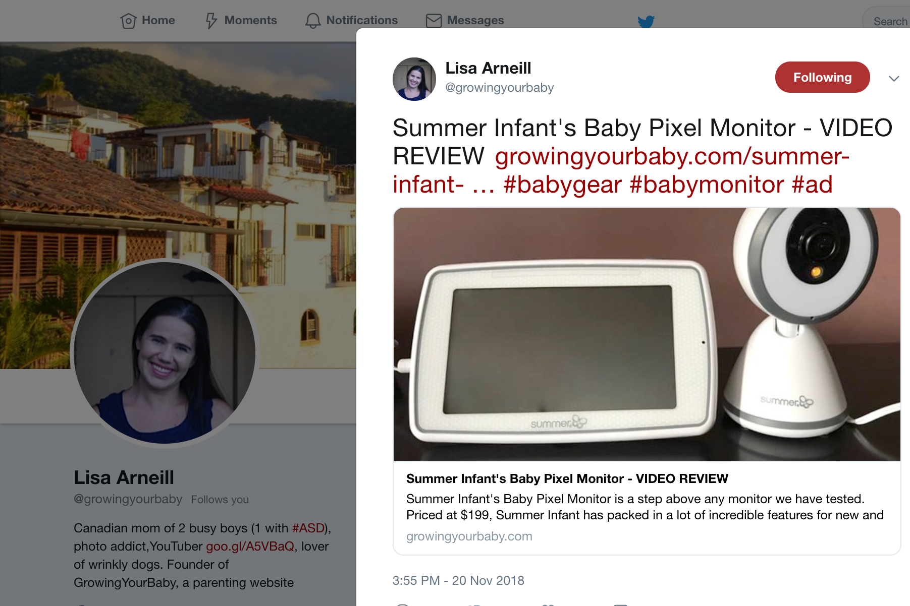 2018.11.19_Growing Your Baby, Twitter_Summer Infant Baby Pixel Monitor_original, cropped 3x2.png