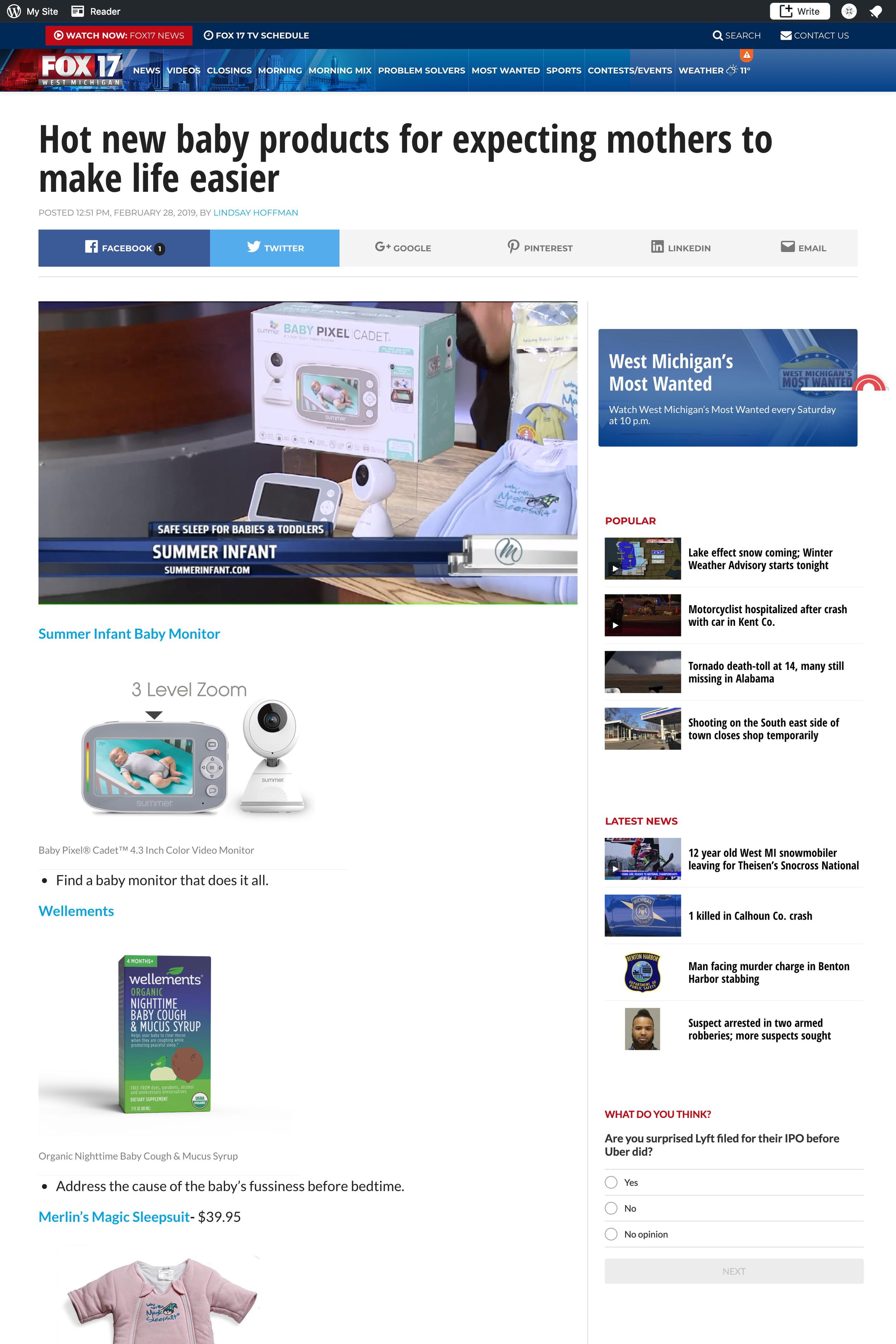2019.03.01_WXMI-TV (FOX 17) Online, Grand Rapids, MI_Summer Baby Pixel Cadet Monitor_cropped 2x3.png